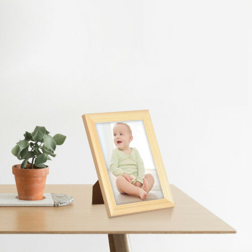Naturfarbe Bilderrahmen Fotogalerie Glasscheibe Artos Stil Holz Rahmen Woer
