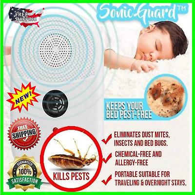 SonicGuard™ Dust Mite /& Bed Bug Killer Original Quality