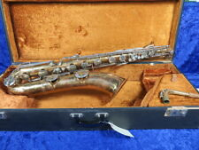 Conn American 12M Baritone Saxophone Ser#C15287 Great Player Cut Tone Holes