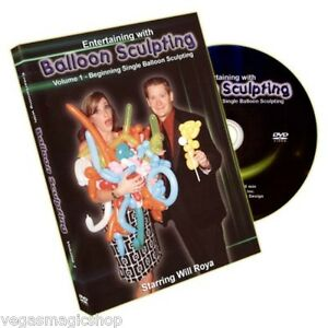 Entertaining-w-Balloon-Sculpting-DVD-1-40-Beginning-Aniamal-Twisting-Figures