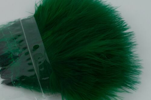 Kelly Green Strung Marabou Blood Quill Fly Tying