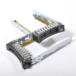 "2.5"" 44T2216 SAS HD Drive Caddy Tray 4 IBM x3650 x3550 x3500 x3400 M2 M3 M4 HS22"