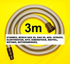 starmix Industriesauger Saugschlauch 3m für BOSCH Gas 25 Gas 50 Gas 50M