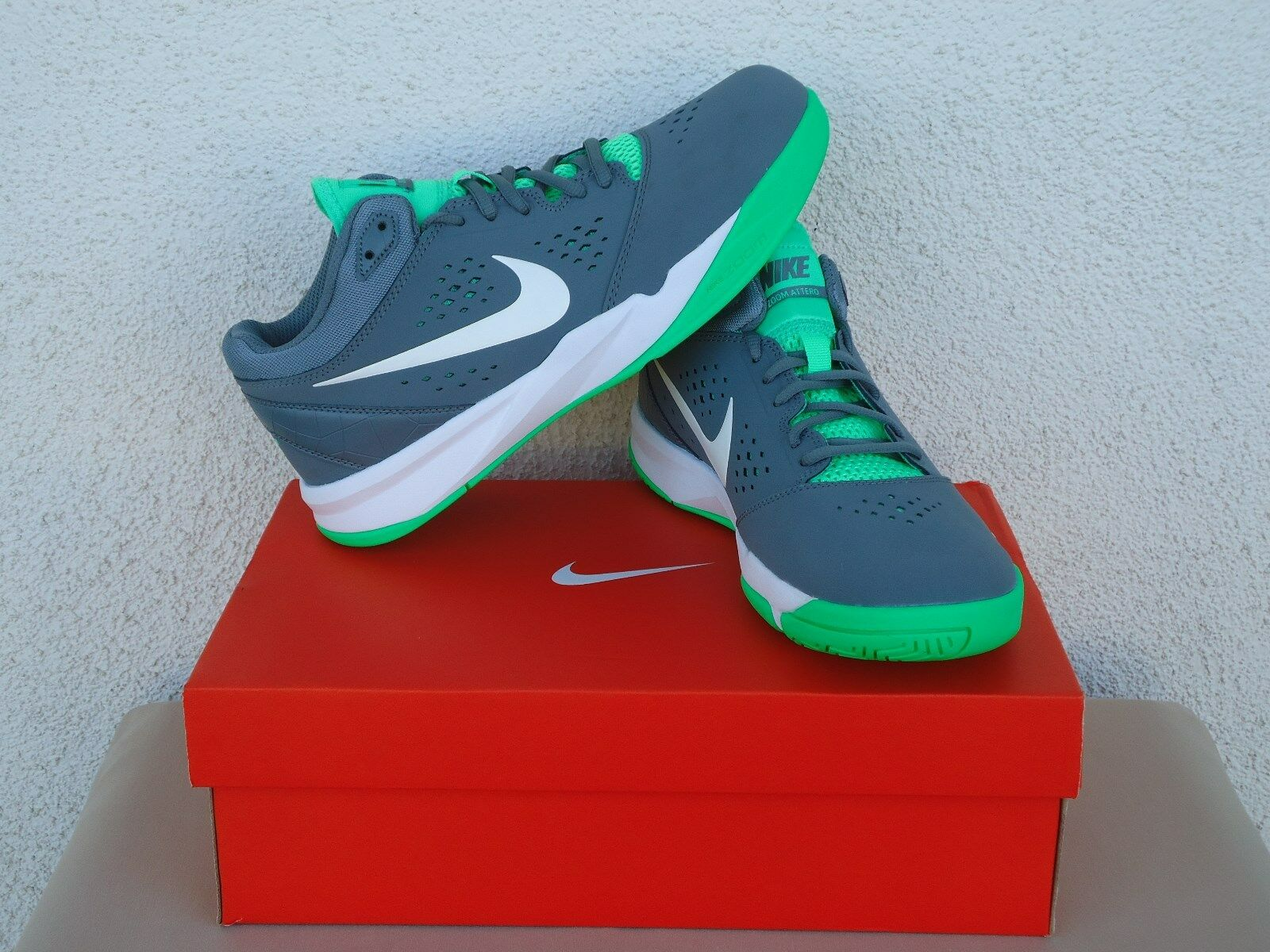 finest selection 4dc00 12f62 ... Nike Men s Sneakers Shoes Zoom Zoom Zoom Attero NBK US 8,8.5,9 Grey ...