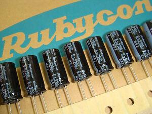 50PCS Genuine Panasonic 6.3 V 1800UF Radial Elec condensateur NEUF