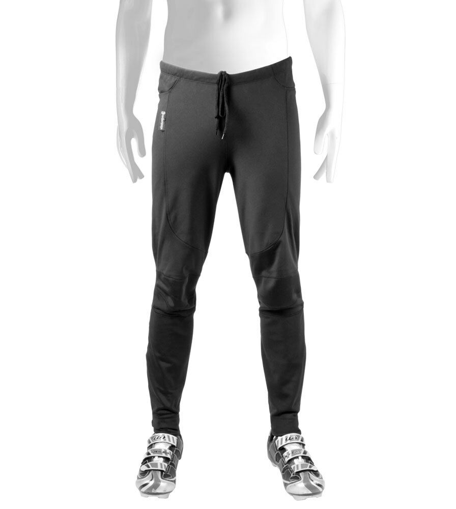 Mens Tall Cycling Thermal WindStopper Bike Tights Softshell Pant Cold Weather