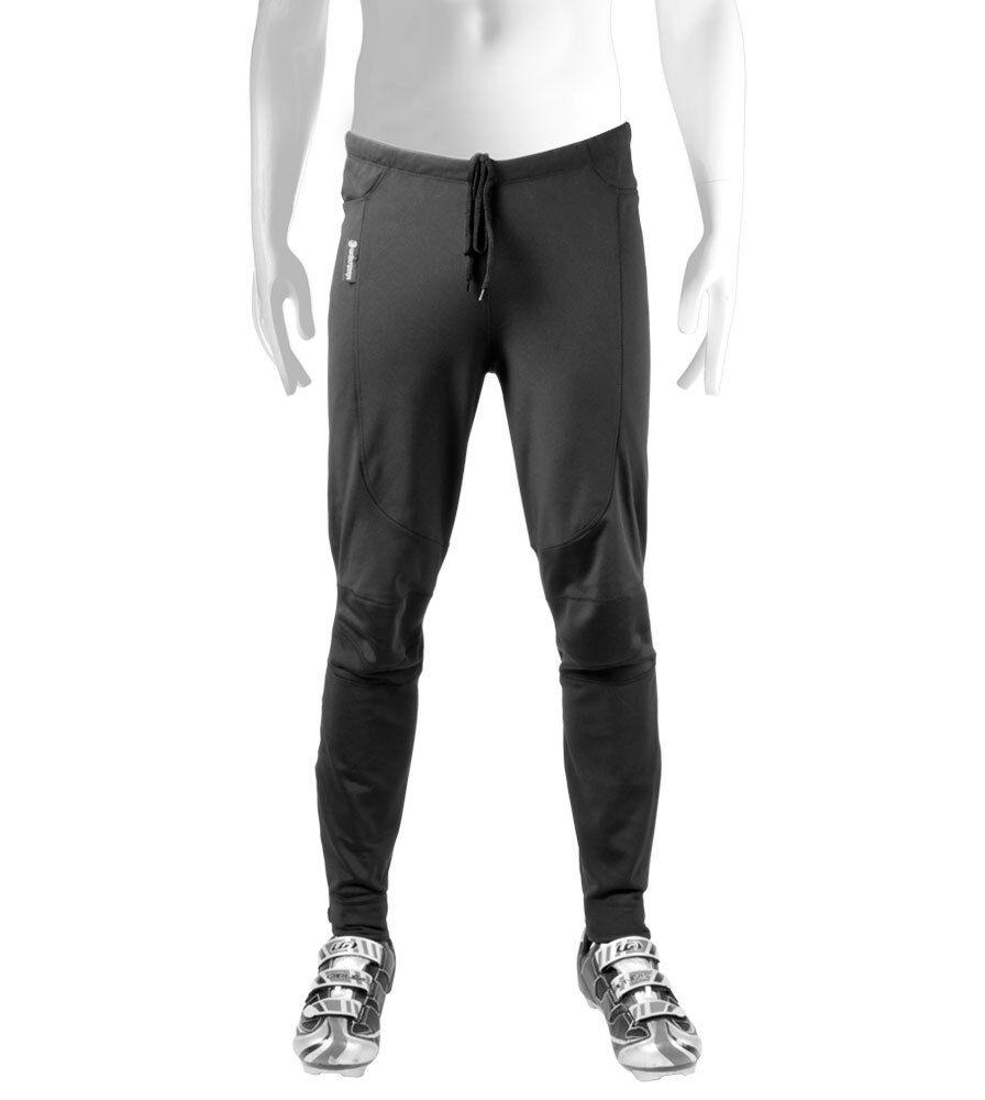 Bicicleta De Ciclismo Térmico Windstopper ATD para hombre Calzas Pantalón Softshell para clima frío