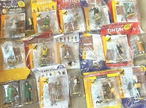 MOULINSART-TINTIN-FIGURINES-OFFICIELLE-51-to-100-BUY-INDIVIDUALLY-Rare-Figures