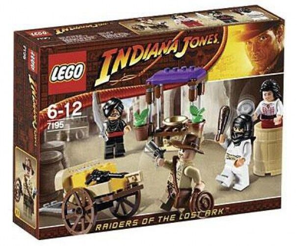 LEGO Indiana Jones Amautobush in Cairo Set  7195   garantito