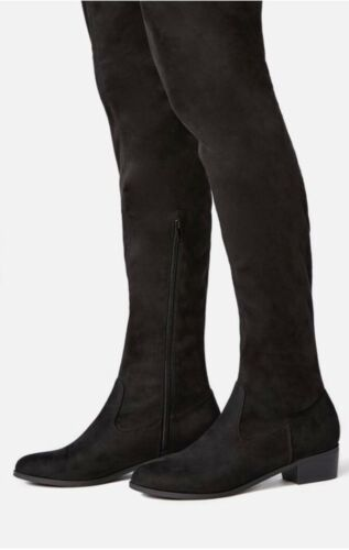 5 Black Flat Trixue 7 Uk Fab Just Boot 6qHSwxa