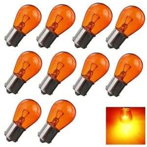 10x-PY21W-BA15S-Amber-Orange-Indicator-Turn-Signal-Bayonet-Car-Light-Bulbs-2
