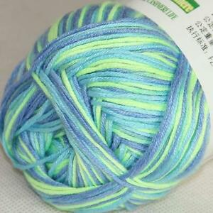 8ebb15d9fa952 Details about Sale New 1ballX50g Soft Baby Socks Natural Smooth Bamboo  Cotton Knitting Yarn 34