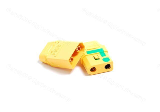 Lot(10) AMASS XT90S XT90-S RC Power Connector Male&Female Anti Spark Spark Spark Connector d3f43a