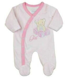 Pink Girl Been inside for 9 months Baby Clothes Sleepsuit//Babygrow set 6-9