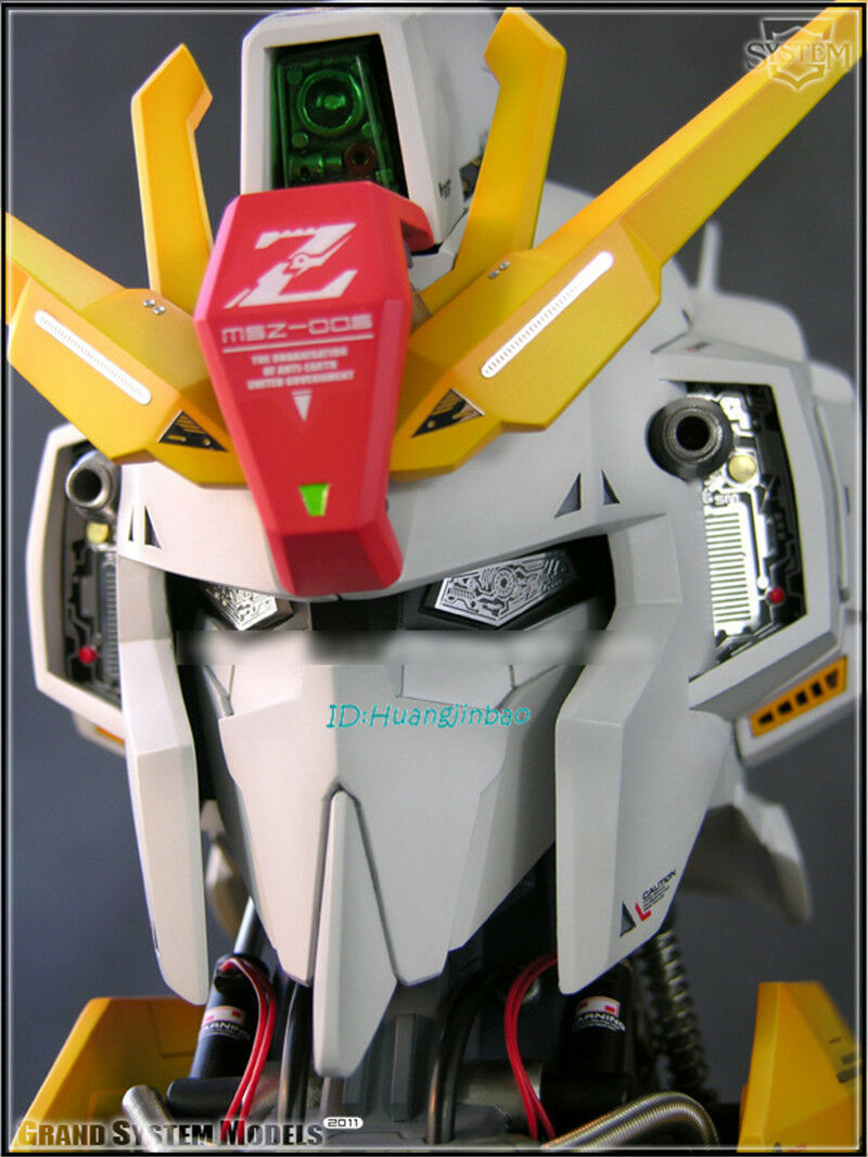 GSM 1 24 MSZ-006 Z GUNDAM Head Action Action Action Figure Painted LED Light Model Collection c7a5b6