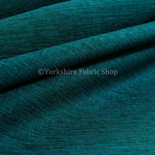 New Quality Shimmer Textile Chenille Upholstery /& Curtains Fire Retardent Fabric
