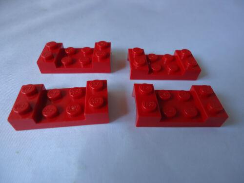 RED veicolo PARAFANGO 2 x 4 Stud con Arch x 4 parte 3788