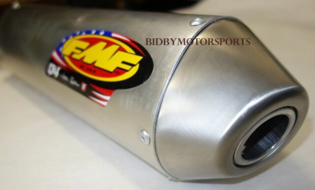 FMF Q4 Slip-on Exhaust Muffler Honda Crf250r 04-05 Crf250x 04-15 041249