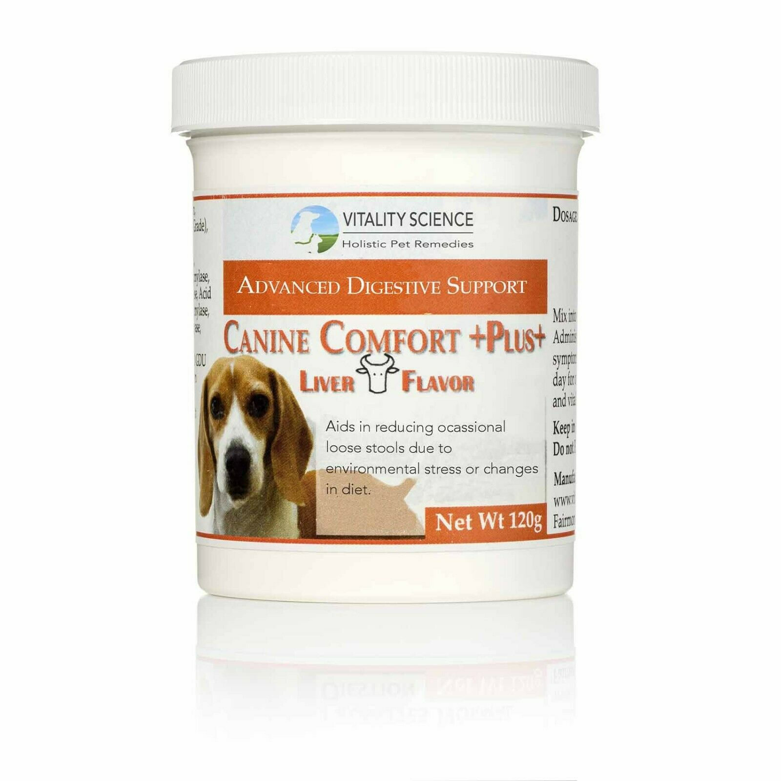 Vitality Science Canine Comfort Plus  For Severe Dog Vomiting & Dog Diarrhea