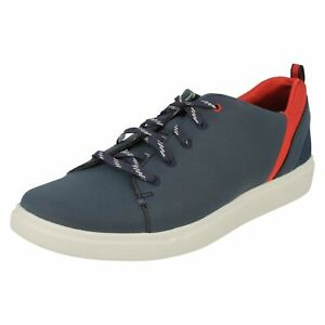 Step Verve blue Ladies shoes Clarks Casual Navy Lo Trainer gIxgfSpwqH