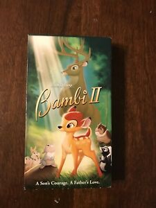 Details about Very Rare Bambi 2 VHS