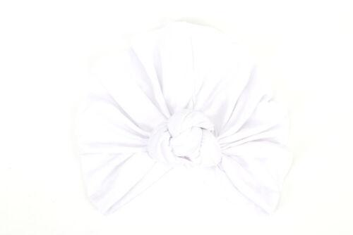 Bébé Filles Femmes Chignon Noeud Spirale Turban Head Wrap Cute Kids Ear Hat Coton Cap