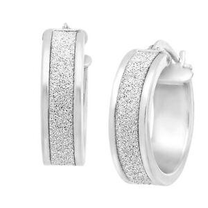 Glitter-Hoop-Earrings-in-Sterling-Silver