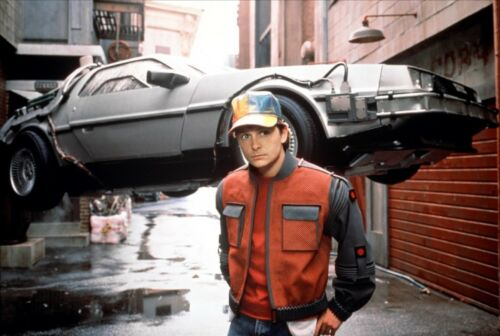 RITORNO AL FUTURO Back to the Future Marty McFly Hat 1:1 Replica Berretto BTTF