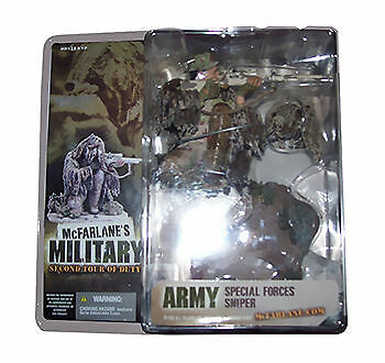 McFarlane Military  Second Tour of Duty - Caucasian Army Special Forces Sniper