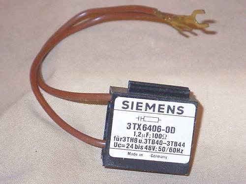 NIB SIEMENS 3TX6406-0D RC element