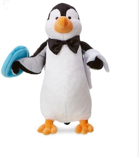 DISNEY Mary Poppins Returns Penguin 12 Soft Plush Doll Toy **NEW**