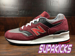 New Balance M997CRG -MADE IN USA- 997