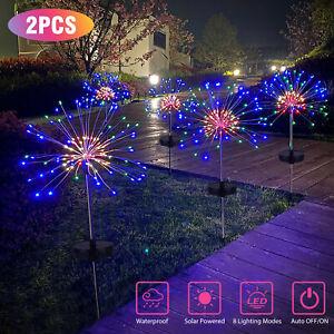 1-2pcs-Solar-Firework-Starburst-Fairy-Lights-Stake-Outdoor-Garden-Path-Lawn-Lamp