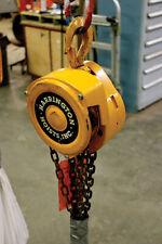 Harrington Cf010 10 1 Ton With 10 Lift Chain Hoist