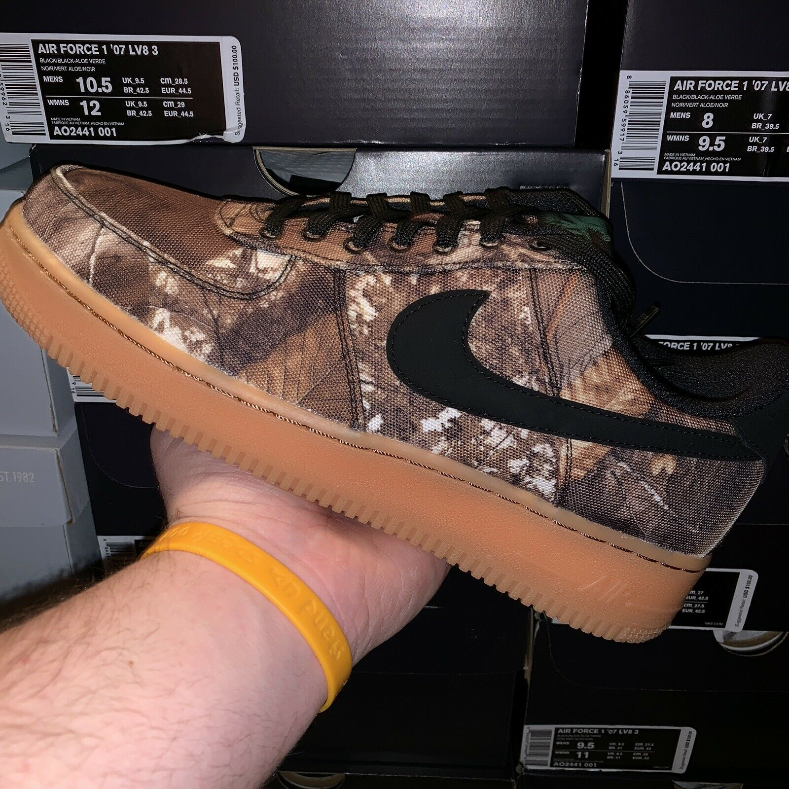 Nike Airforce One Low Realtree Mens Women's