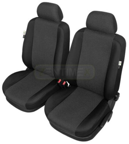 Sitzbezüge schwarz vorne ARE RENAULT CLIO 2005