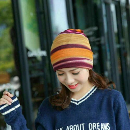 Stripe Fashionable cap pregnant women confined headcloth multi-function centers