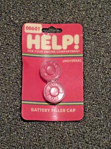 Dorman Help 00601 Universal Battery Filler Cap Set of 2 - Push In Style