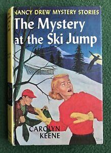 Vintage Nancy Drew The Mystery at the Ski Jump 1952 Grosset & Dunlap detective
