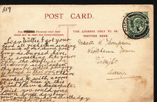 Genealogy Postcard - Thompson - Wickham Farm, Pirbright, Surrey RF9