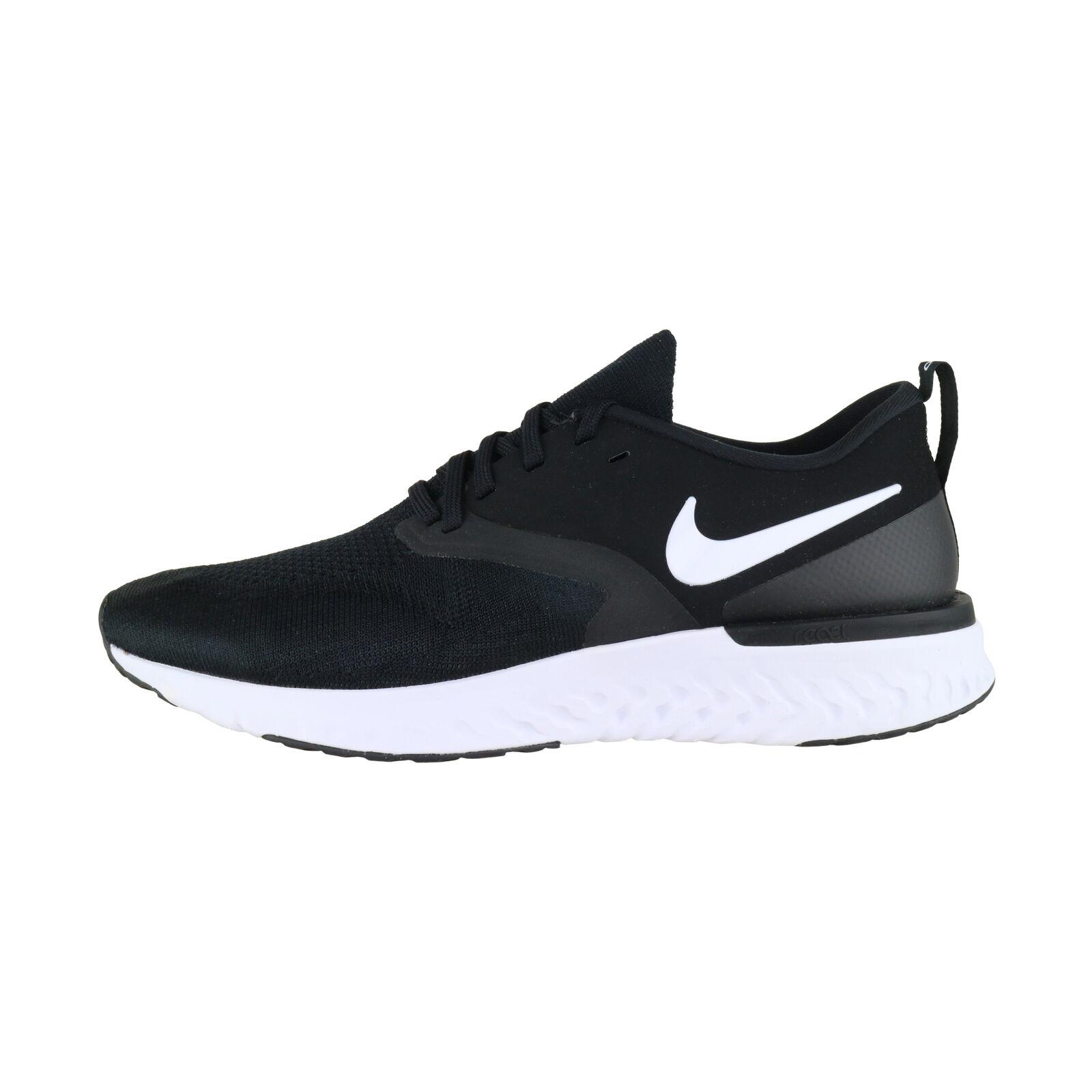 Nike Odyssey React 2 Flyknit Negro blancoo AH1015-010