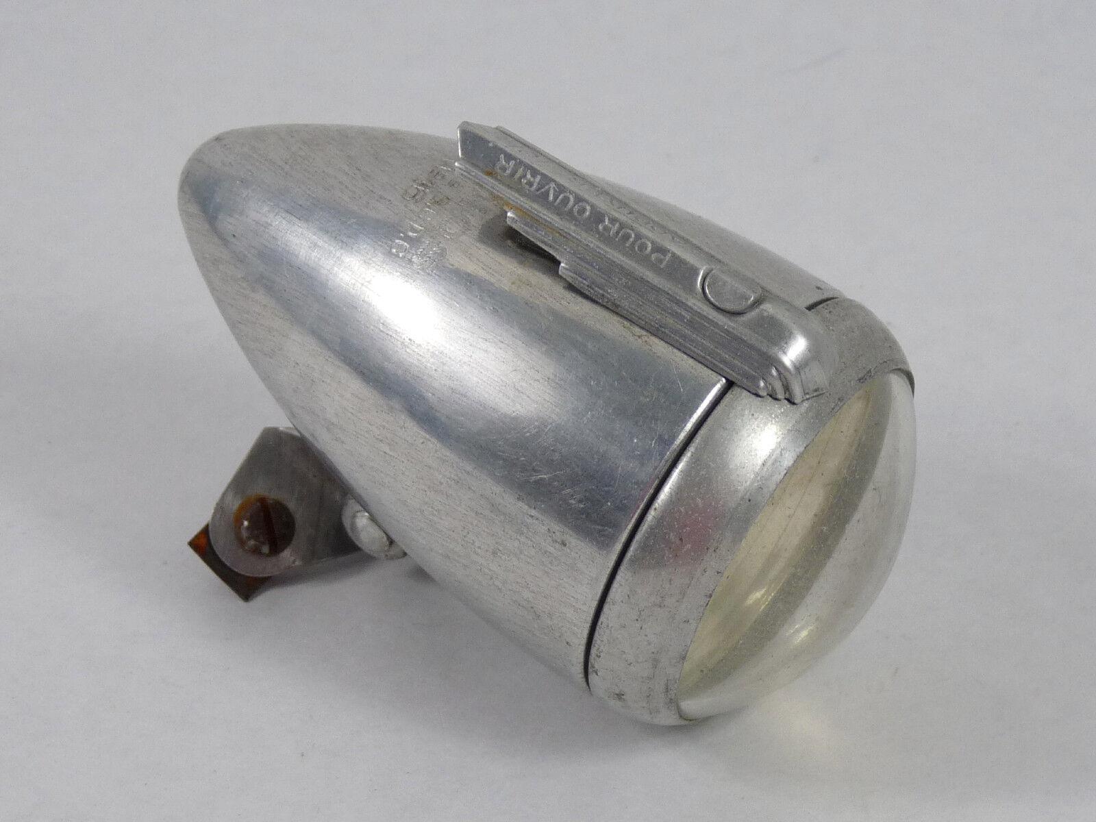 Radios No.16 cabeza luz Lámpara montajes de guardabarros bicicleta Herse Singer Francés Vintage