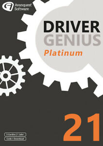 Driver Genius 21 Platinum - 3 Geräte / 1 Jahr, Download, Windows