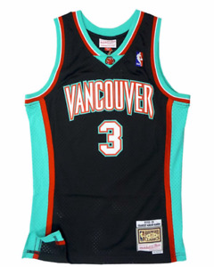 Men's Vancouver Grizzlies Shareef Adur-Rahim Mitchell & Ness 2000-01 HWC Jersey