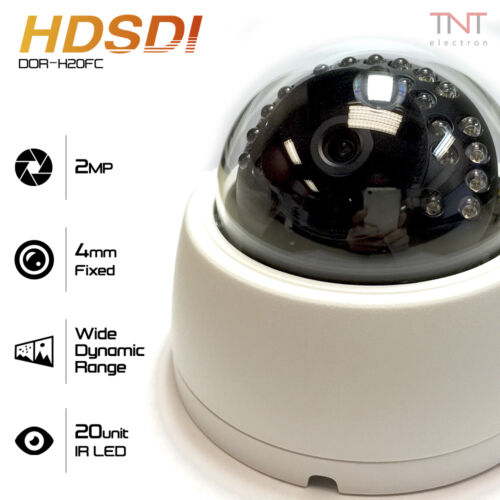 "HD SDI 2.1MP 1//2.8/"" SONY Progressive CMOS 1080P CCTV Dome Camera 4mm Fixed Lens"
