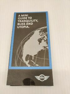 Mini Cooper A Guide to Tranquility, Bliss and Utopia 2003 Print Ad Promotional