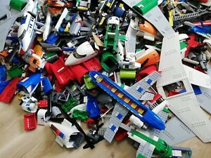 LEGO-1KG-PLANE-AIRPORT-AIRCRAFT-BUILDING-CREATIVTY-PACK-S-BULK-FREE-TOOL