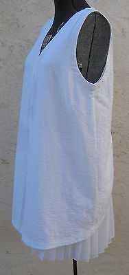 Summer A/X Armani Exchange White Pleated Dress XXS New