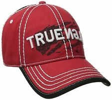 NEW TRUE RELIGION MEN'S CLASSIC PREMIUM BASEBALL TRUCKER HAT CAP TRUE RED TR1954