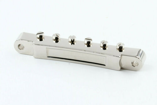 Nonwire ABR-1 Bridge Nickel with Nylon Saddles made in USA fits Gibson®